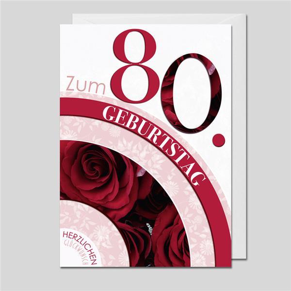 Flower Age 80.Geburtstag
