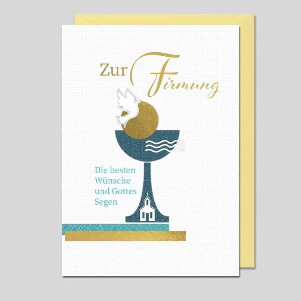 Umschlagkarte Zur Firmung