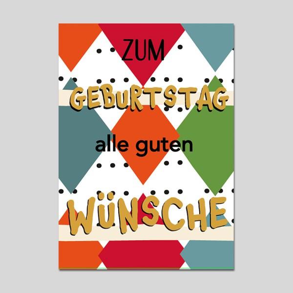 Minikarte Alle guten Wünsche