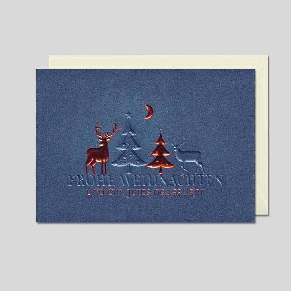 Weihnachtskarte Exquisit