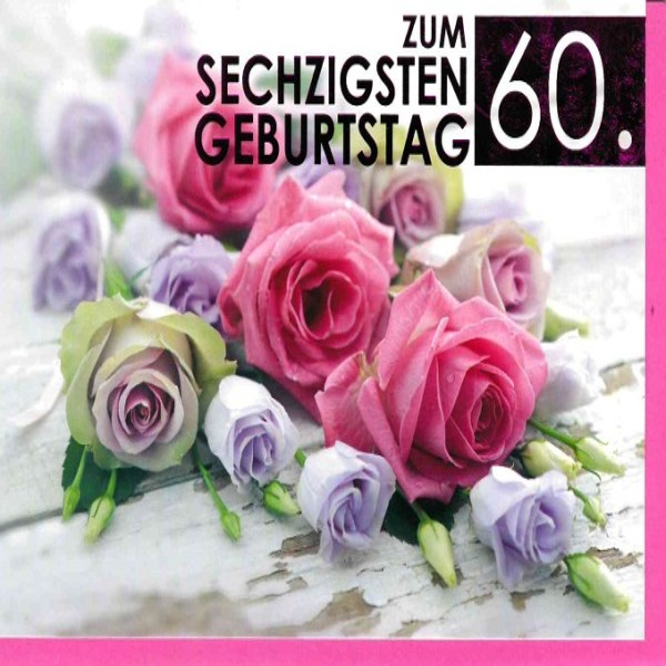 Fotokarte zum 60. Geburtstag
