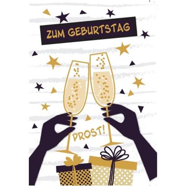 Minikarte Zum Geburtstag