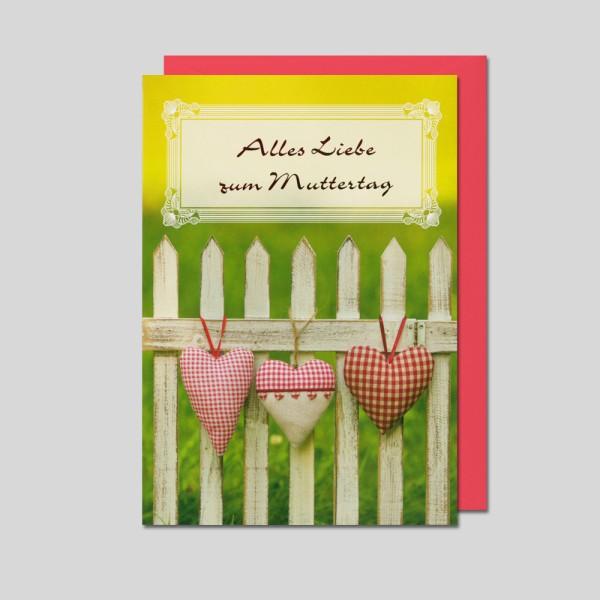 Umschlagkarte Muttertag