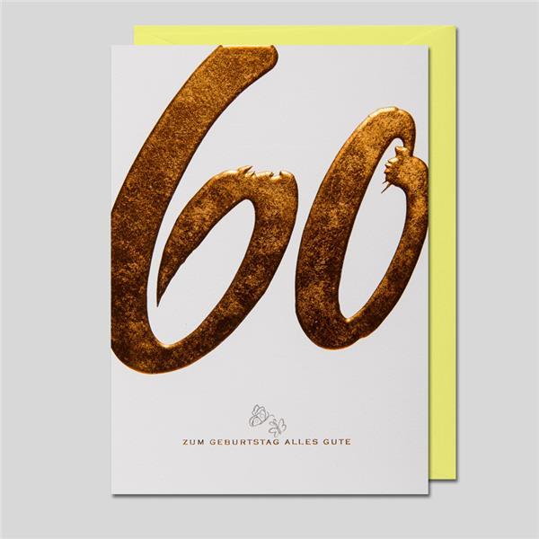 KalliGraphik 60. Geburtstag