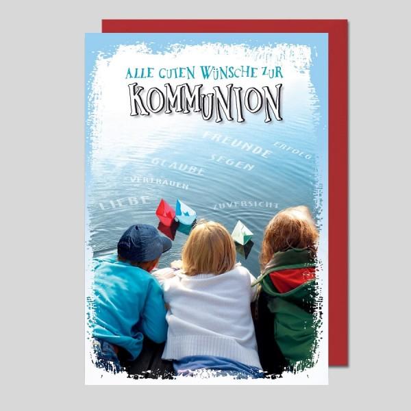 Glückwunschkarte Zur Kommunion