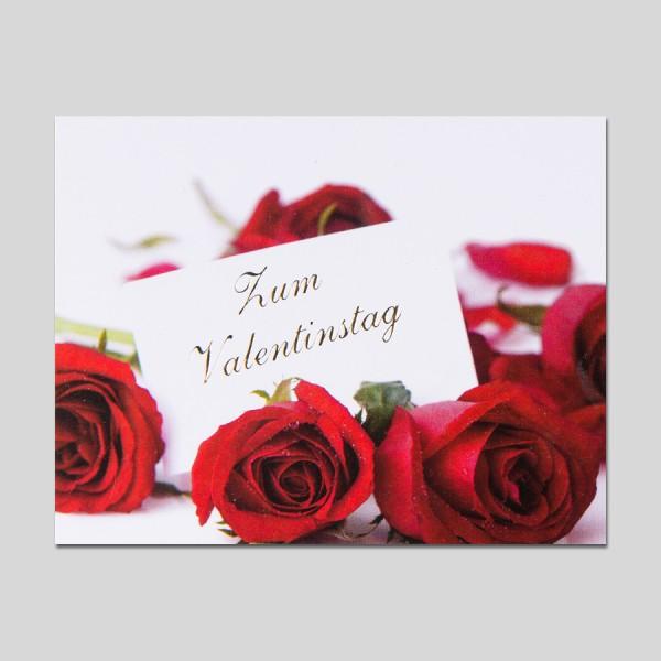 Midikarte Valentinstag