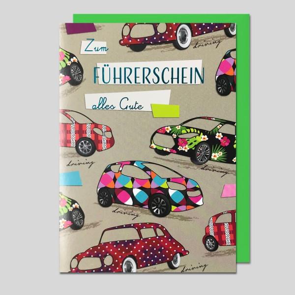 Umschlagkarte Zum Führerschein