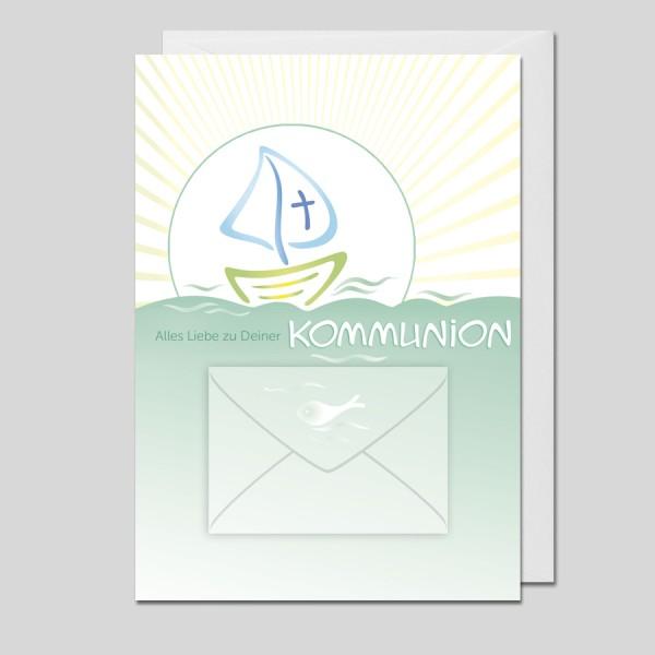 Glückwunschkarte Kommunion