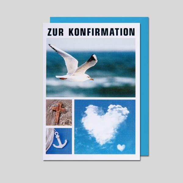 Umschlagkarte Konfirmation
