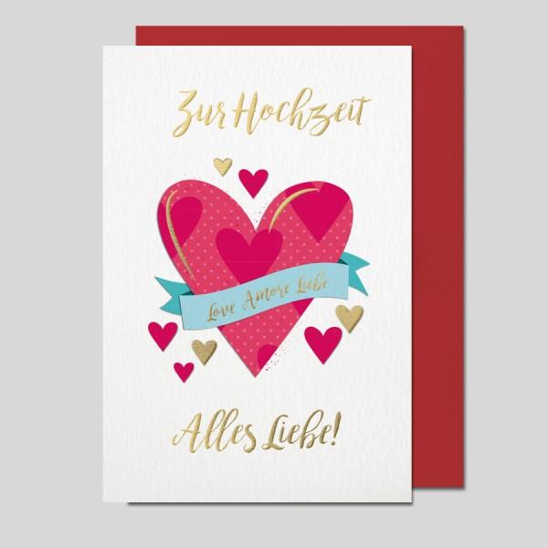 Hochzeitskarte Impressione