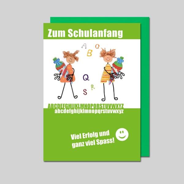 Umschlagkarte Schulanfang