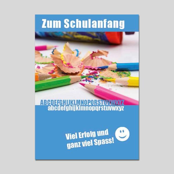 Minikarte Schulanfang mit Klammer