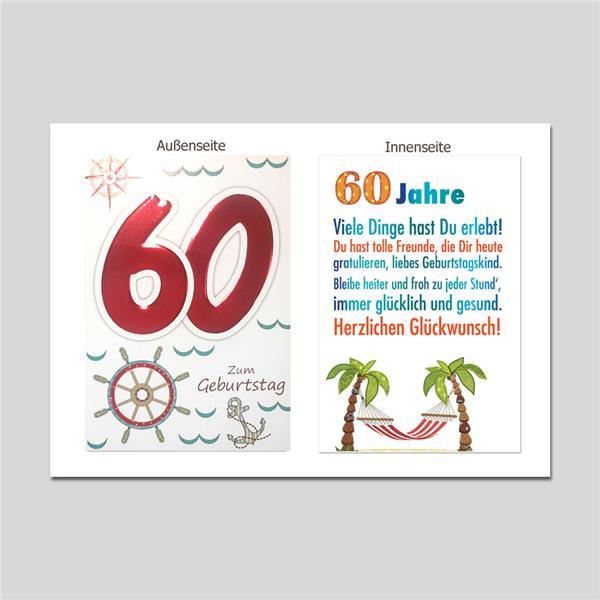 Age 60. Geburtstag