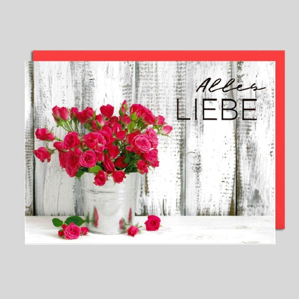 Fotokarte Alles Liebe