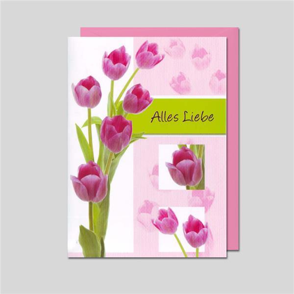 Umschlagkarte Alles Liebe