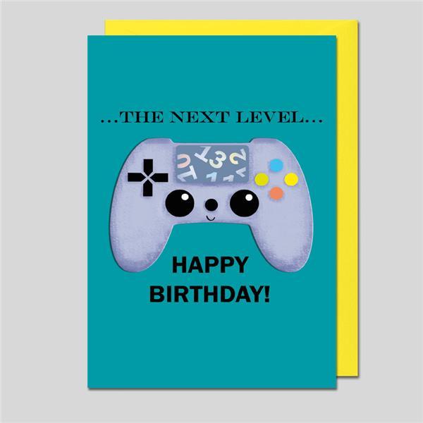 Geburtstagskarte The Next Level