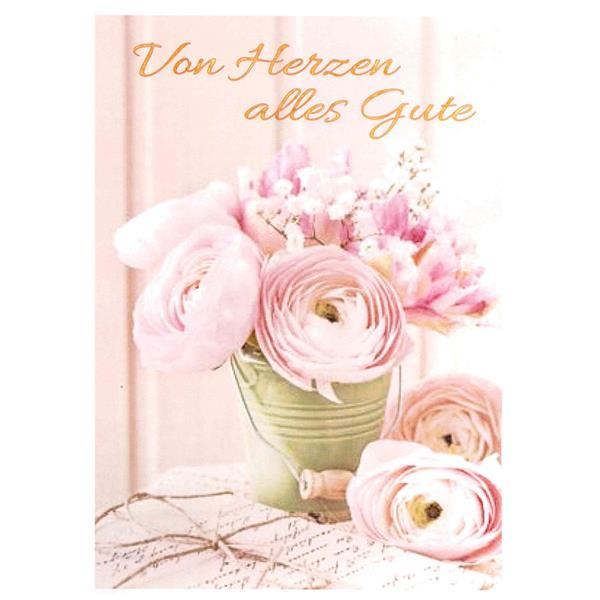 Minikarte Von Herzen alles Gute