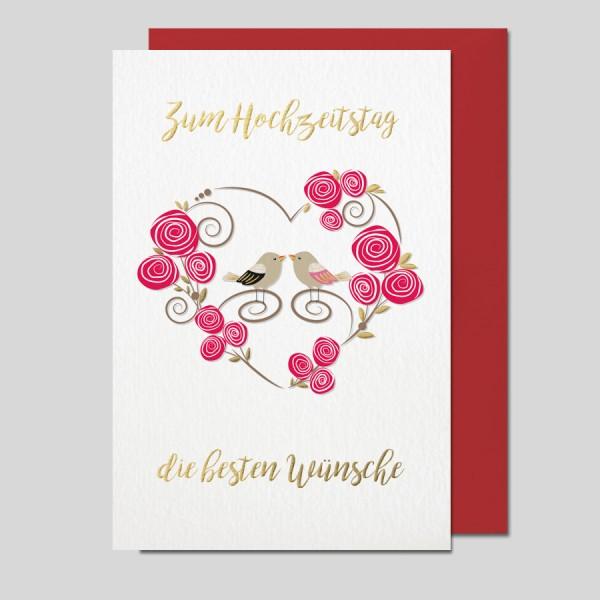 Hochzeitstagkarte Impressione