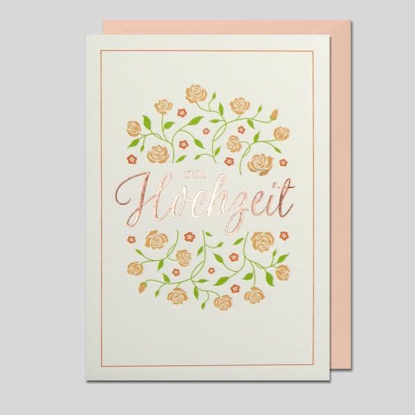 Letter Press Hochzeit