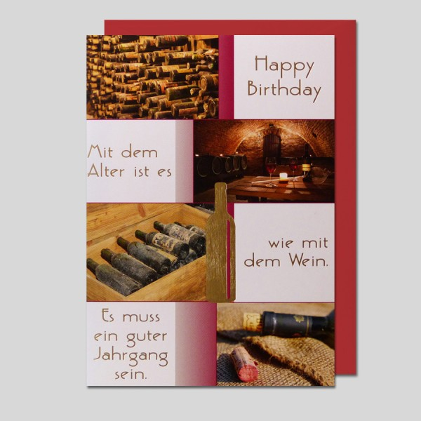 Geburtstagskarte Hobby + Sport