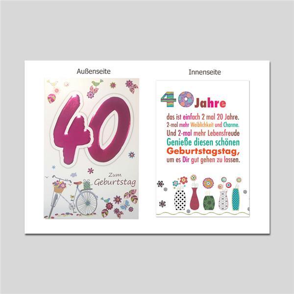 Age 40. Geburtstag