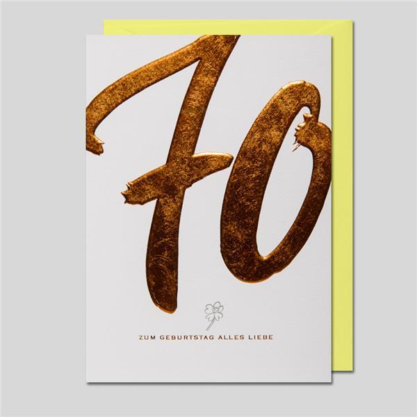 KalliGraphik 70. Geburtstag