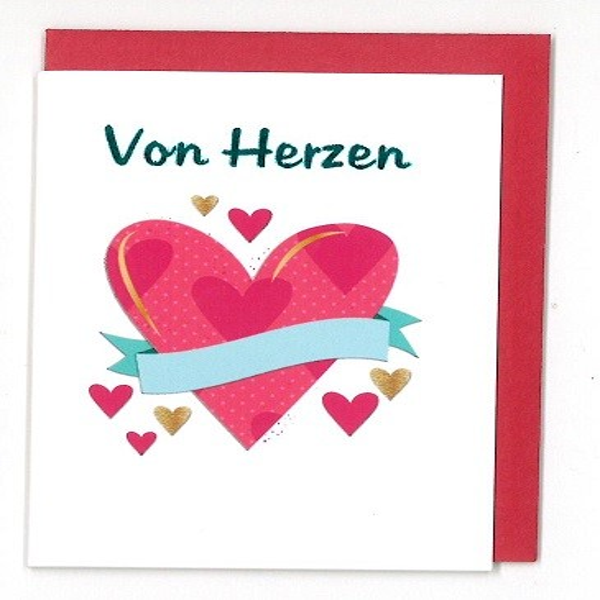 Minikarte Von Herzen