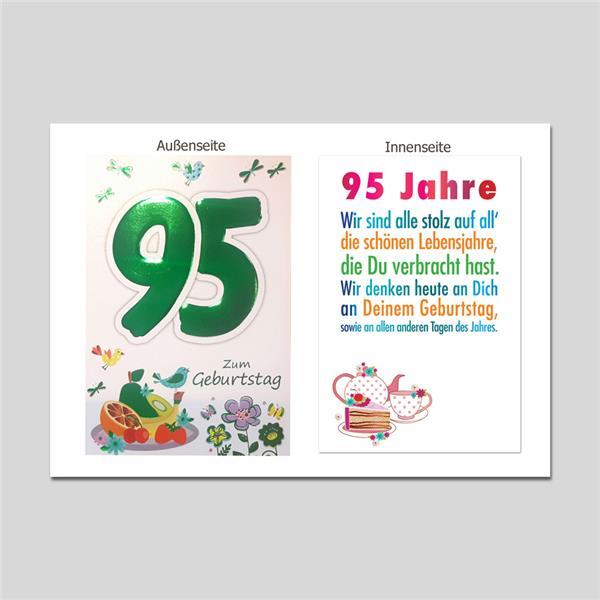 Age 95. Geburtstag