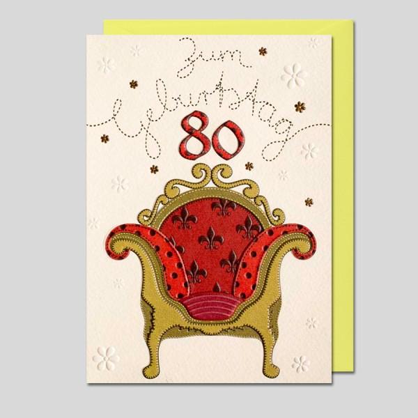 """Patchwork """"80. Geburtstag"""""""