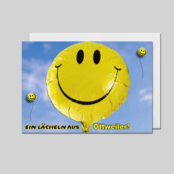 City-Cards Smileyballon