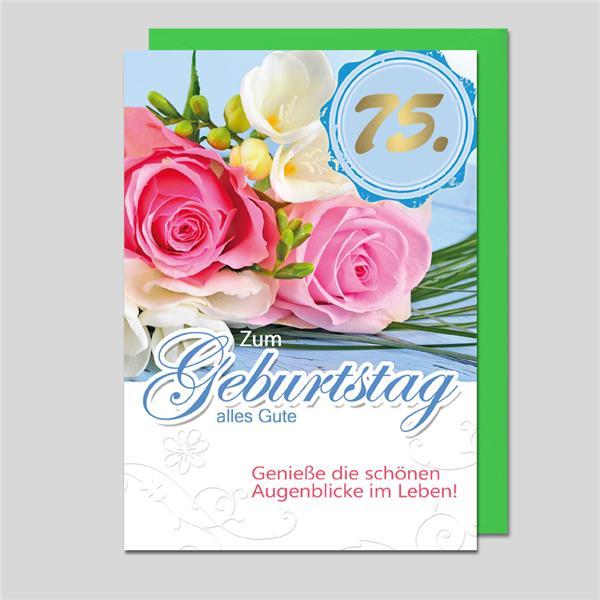 75. Geburtstag