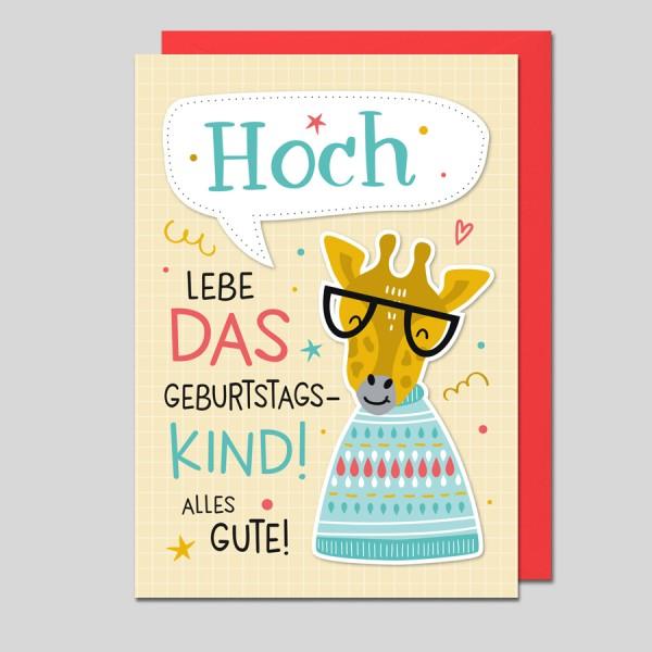 Geburtstagskarte Kinder