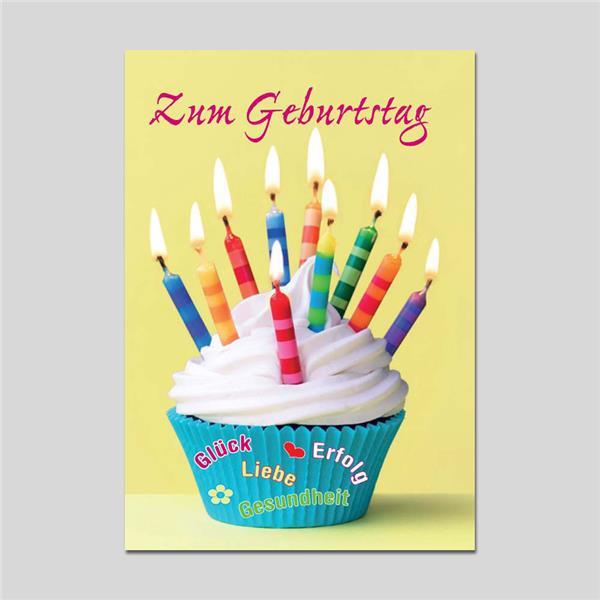 Minikarte Geburtstag mit Klammer