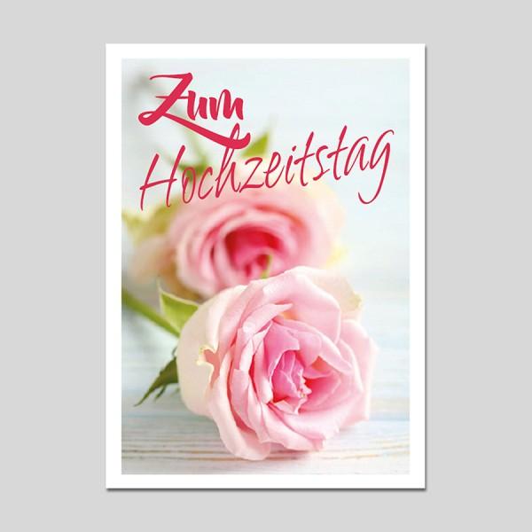 Minikarte Hochzeitstag
