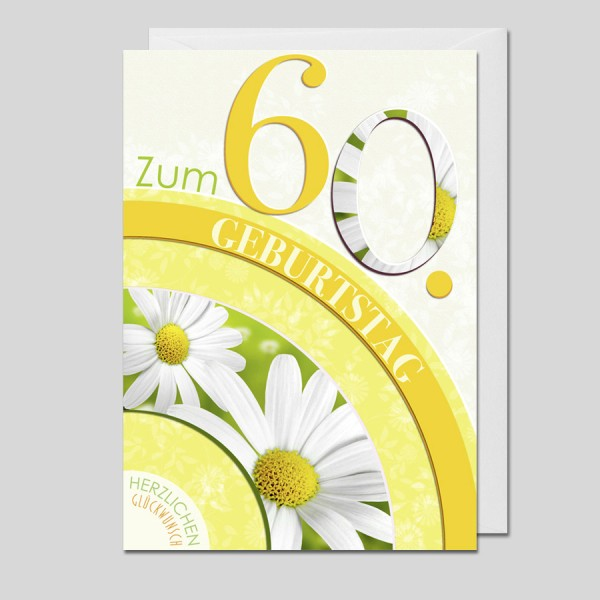 Flower Age 60.Geburtstag